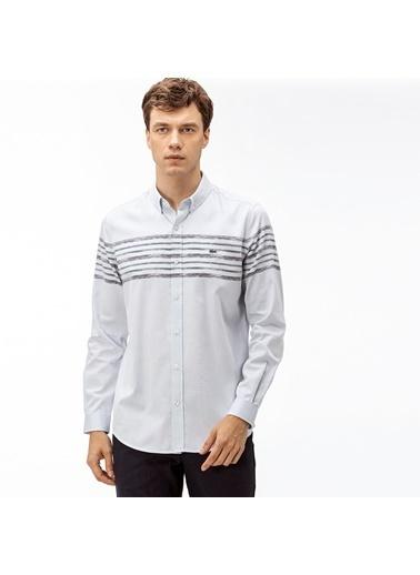 Lacoste Erkek Slim Fit Gömlek CH2020.20M Mavi